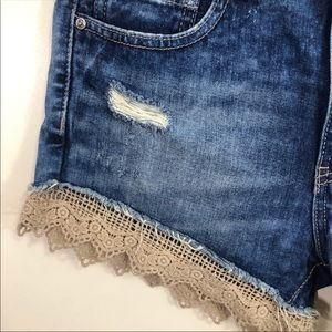 Free People Shorts - Free people size 28 distressed shorts